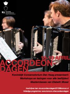 Flyer Accordeondagen 2015